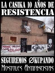 CSOA La CASiKA | Resistiendo 12 años y seguiremos okupando