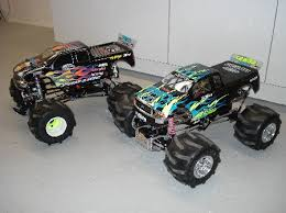 grave digger rc truck