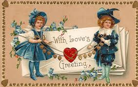 greeting postcard