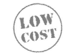 low cost logo