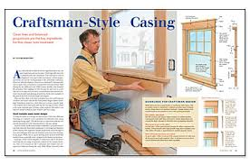 craftsman style interior trim