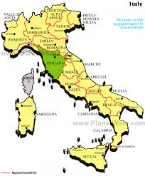 italy map tuscany