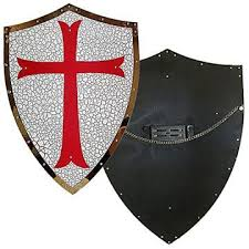 medieval knight shields