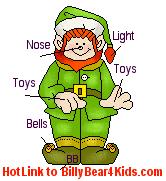 animated christmas elf