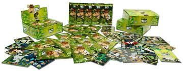 ben 10 trading cards
