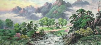 korean landscape paintings
