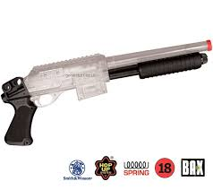 clear airsoft shotguns