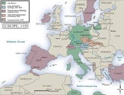 maps of europe during world war 2
