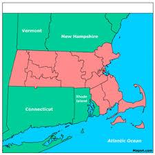 a map of massachusetts