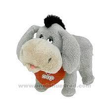 donkey stuffed