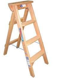 timber ladders