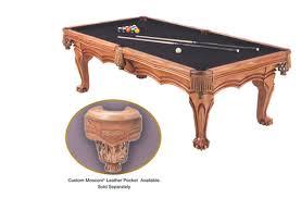 billiard table size