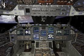 inside space shuttle