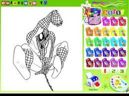 kolorowanki spiderman