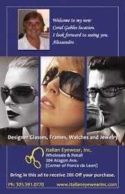 italian eyewear