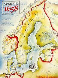 mapa szwecji