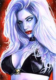 lady death cards