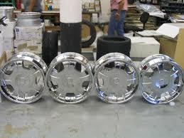 chrome rims tires