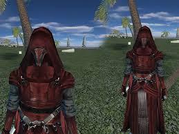 dark robes