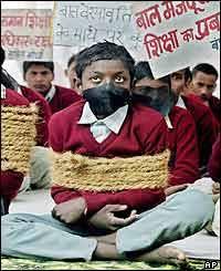 child slavery in india