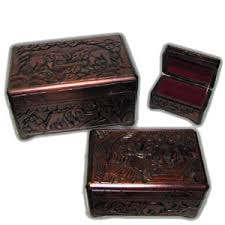 oriental wooden boxes