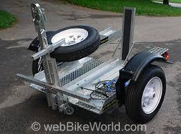 motorcycle trailering