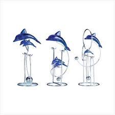 dolphin sculptures