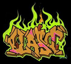bubble graffiti writing