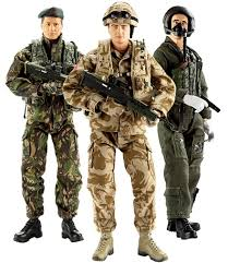 action figures army