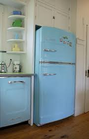 blue fridges