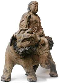 buddha lion