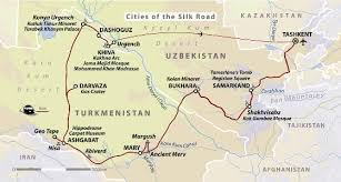 cities on the silk road