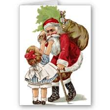 old fashion christmas cards
