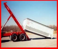 roll off container trucks