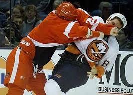 ice hockey fights