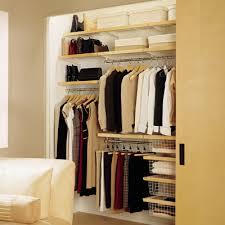 organizing small closets