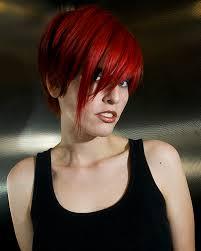 dark red hair shades
