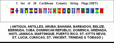 caribbean country flags