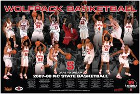 college basketball poster