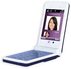 purple phone