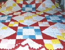 crocheted quilts