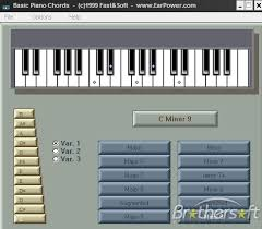 chords on a piano