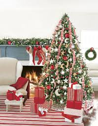 christmas tree decorating ribbon