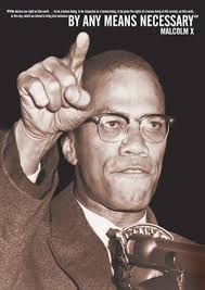 malcolm x by any means