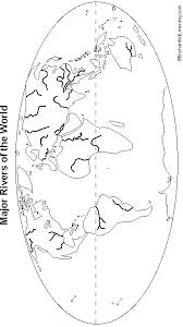rivers world map