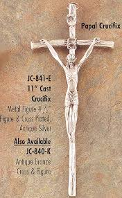 pope john paul ii crucifix