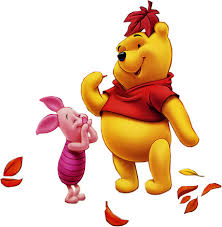 piglet and pooh bear