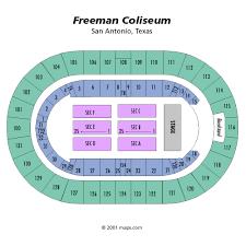 coliseum seating chart