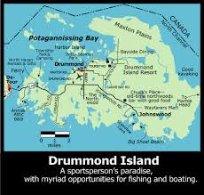 drummond island map