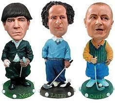 3 stooges golfing